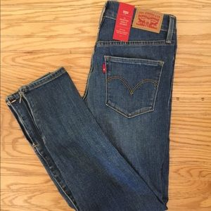 NWT Levi 311 Shaping Skinny Ankle Jeans